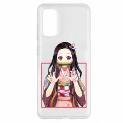 Чохол для Samsung S20 Nezuko