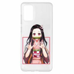 Чохол для Samsung S20+ Nezuko