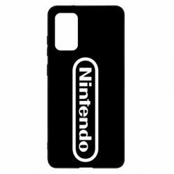 Чохол для Samsung S20+ Nintendo logo