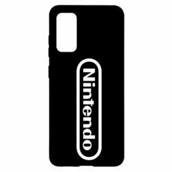 Чохол для Samsung S20 Nintendo logo