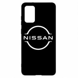 Чехол для Samsung S20+ Nissan new logo