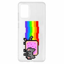 Чохол для Samsung S20+ Nyan cat