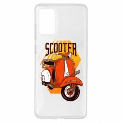 Чохол для Samsung S20+ Orange scooter