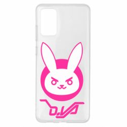 Чехол для Samsung S20+ Overwatch dva rabbit