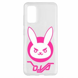 Чехол для Samsung S20 Overwatch dva rabbit
