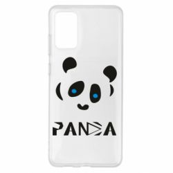 Чохол для Samsung S20+ Panda blue eyes