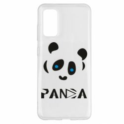 Чохол для Samsung S20 Panda blue eyes