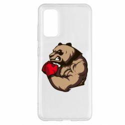 Чехол для Samsung S20 Panda Boxing