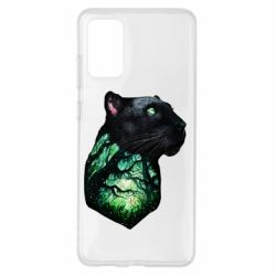 Чохол для Samsung S20+ Panther and Forest