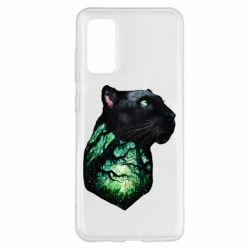 Чохол для Samsung S20 Panther and Forest