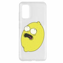 Чохол для Samsung S20 Pickle Rick Sanchez