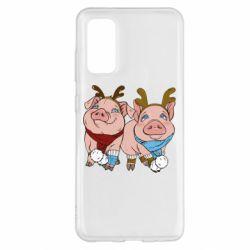 Чохол для Samsung S20 Pigs