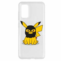 Чохол для Samsung S20 Pikachu in balaclava