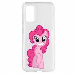 Чехол для Samsung S20 Pinkie Pie smile