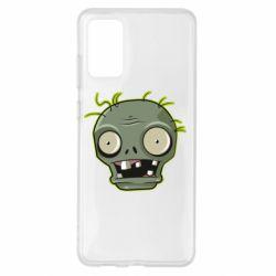 Чохол для Samsung S20+ Plants vs zombie head