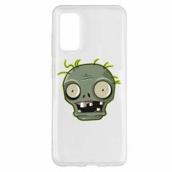 Чохол для Samsung S20 Plants vs zombie head