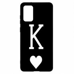 Чохол для Samsung S20+ Playing Cards King