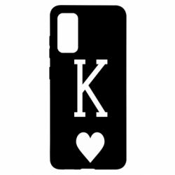 Чохол для Samsung S20 Playing Cards King