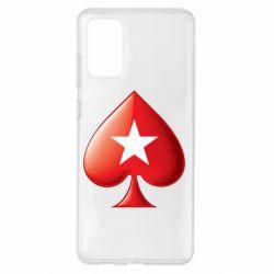 Чохол для Samsung S20+ Poker Stars 3D Logo