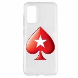 Чохол для Samsung S20 Poker Stars 3D Logo