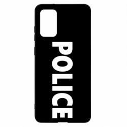 Чехол для Samsung S20+ POLICE