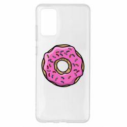 Чехол для Samsung S20+ Пончик Гомера