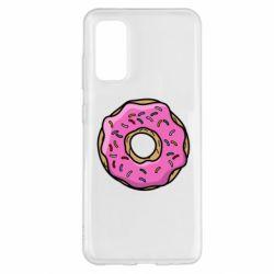 Чехол для Samsung S20 Пончик Гомера