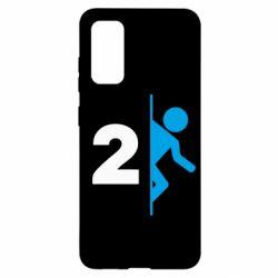 Чехол для Samsung S20 Portal 2 logo