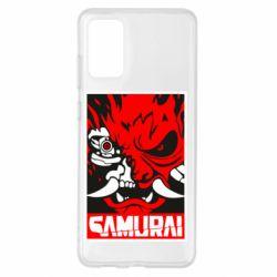 Чохол для Samsung S20+ Poster samurai Cyberpunk
