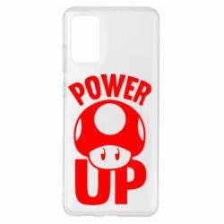 Чохол для Samsung S20+ Power Up Маріо гриб