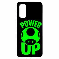 Чохол для Samsung S20 Power Up Маріо гриб