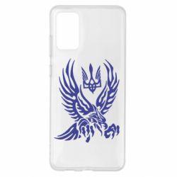 Чохол для Samsung S20+ Птах та герб