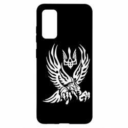 Чохол для Samsung S20 Птах та герб