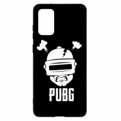Чехол для Samsung S20+ PUBG: hero face