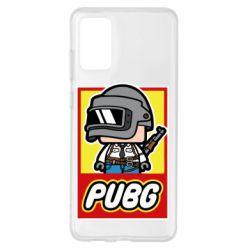 Чехол для Samsung S20+ PUBG LEGO