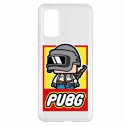 Чехол для Samsung S20 PUBG LEGO