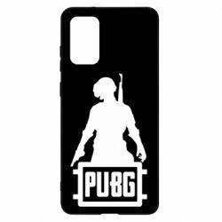 Чехол для Samsung S20+ PUBG logo and hero