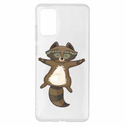 Чохол для Samsung S20+ Raccoon