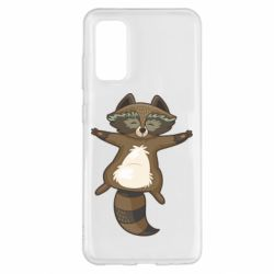 Чохол для Samsung S20 Raccoon