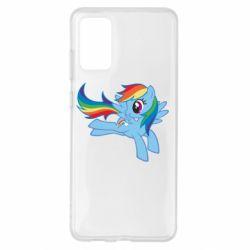 Чохол для Samsung S20+ Rainbow Dash run