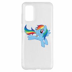 Чохол для Samsung S20 Rainbow Dash run