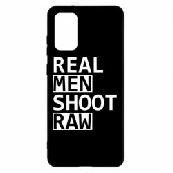 Чохол для Samsung S20+ Real Men Shoot RAW