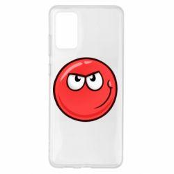 Чехол для Samsung S20+ Red Ball game