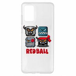 Чохол для Samsung S20+ Red ball heroes