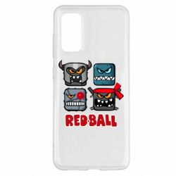 Чохол для Samsung S20 Red ball heroes