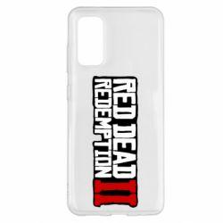 Чохол для Samsung S20 Red Dead Redemption logo