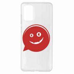 Чехол для Samsung S20+ Red smile