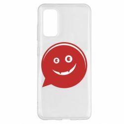 Чехол для Samsung S20 Red smile