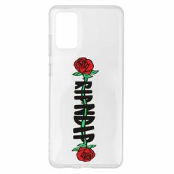Чехол для Samsung S20+ RipnDip rose