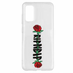 Чехол для Samsung S20 RipnDip rose